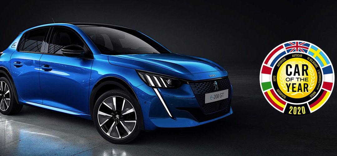 La Nouvelle Peugeot 208 «Car Of The Year 2020»