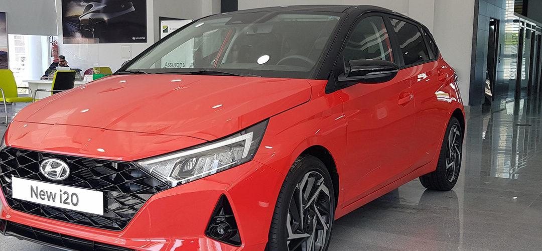 NOUVELLE HYUNDAI i20 HG 1.0 TURBO GDI 100 CH BOITE AUTO 7 RAPPORTS DISPONIBLE À HYUNDAI TUNISIE