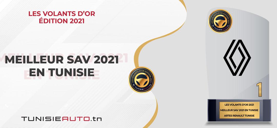 Sondage Meilleur SAV 2021: ARTES RENAULT ÉLU VOLANT D'OR 2021!