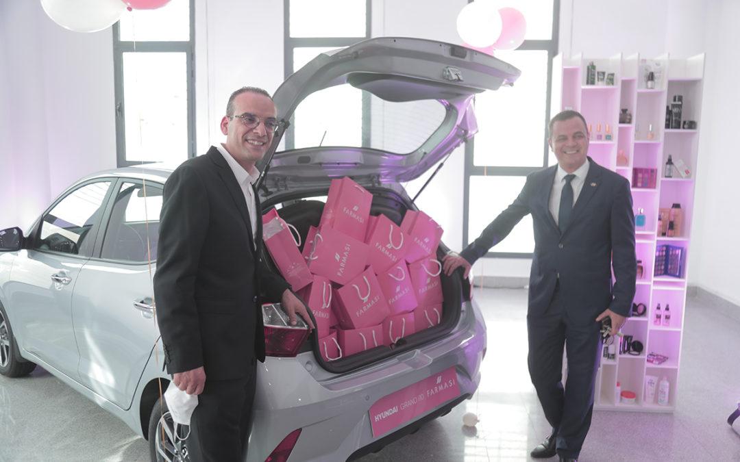 PARTENARIAT FARMASI – Hyundai TUNSIE: L'alliance de la beauté et de la performance