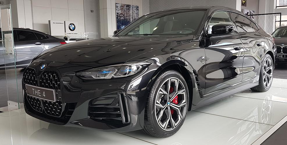 NOUVELLE BMW SERIE 4 GRAN COUPÉ 430i PACK M SPORT CHEZ BEN JEMAA MOTORS BMW TUNISIE